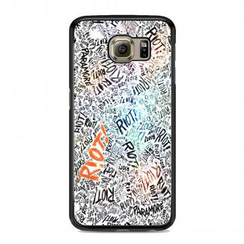 Paramore Riot Quotes For samsung galaxy s6 case