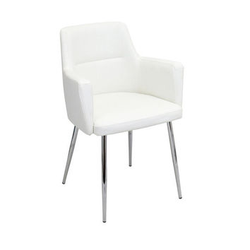 Andrew Dining Chair White (set of 2)