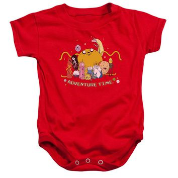 Adventure Time - Outstretched Infant Snapsuit Officially Licensed Baby Clothing