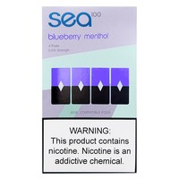 Sea100 Blueberry Menthol 4 Pods