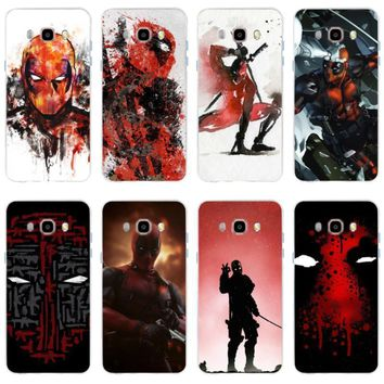 Deadpool Dead pool Taco Cartoon  picture design mobile phone cover TPU,for Samsung GalaxyS6 S6edge S6Plus A7 S7edge S8 S9 S8 s9Plus  J5 J7 2016 AT_70_6