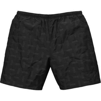 Supreme: Jacquard Water Short - Black