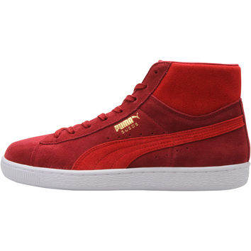 Puma Suede Mid Classic - Rio Red/High Risk Red/White