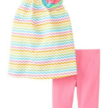 Mud Pie-Colorful Tunic & Legging Set