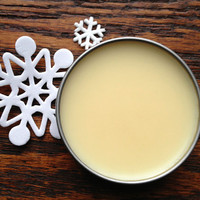 Vanilla Glisten Winter Rescue Balm Lotion Bar (Organic) Avocado Butter, Jojoba Oil, Green Tea Extract
