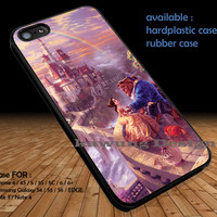 Disney Beauty & The Beast iPhone 6s 6 6s+ 5c 5s Cases Samsung Galaxy s5 s6 Edge+ NOTE 5 4 3 #cartoon #disney #animated #BeautyAndTheBeast DOP316