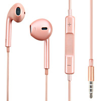 Mybat Hi-Fi Dynamic Stereo Hands-free Headset with Mic - Rose Gold