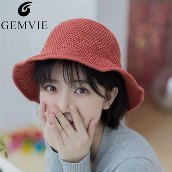 a3eaa790154 Breathable Solid Cotton Wide Brim Sun Caps For Women Handmade Cr