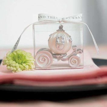 Cinderella Wedding Carriage Candle (Pack of 1)