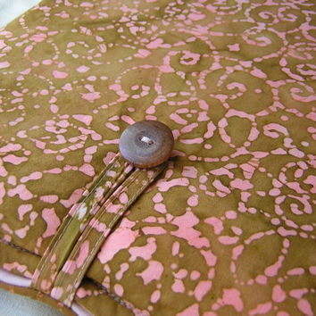 Batik MacBook Pro 13 Inch or Retina Display Pink Brown Case for Women Cover Handmade Mac Book Sleeve Etsy