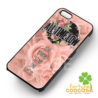 All Time Low Love Yourself Quote - 3 for iPhone 6S case, iPhone 5s case, iPhone 6 case, iPhone 4S, Samsung S6 Edge