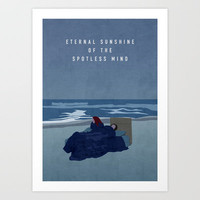 ETERNAL SUNSHINE Art Print by Oliver Shilling
