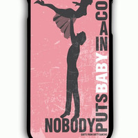 iPhone 6 Plus Case - Rubber (TPU) Cover with Dirty Dancing movie inspired Rubber Case Design