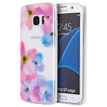 SAMSUNG GALAXY S7 EDGE TPU WATER COLOR IMD CASE BE ENCHANTED
