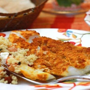 Recipes - Quick Middle Eastern Baked Fish