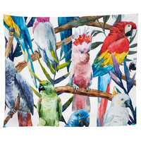 Paradise of Birds Tapestry