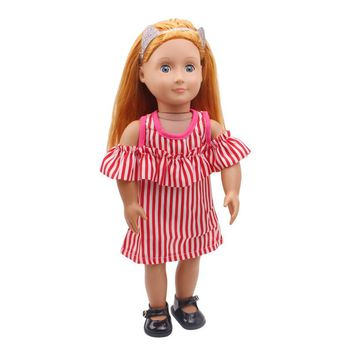 "Free shipping!!! hot 2017 new style Popular 18"" American girl doll clothes/dress C261"
