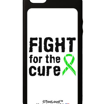 Fight for the Cure - Lime Green Ribbon Lyme Disease iPhone 5C Grip Case  by TooLoud