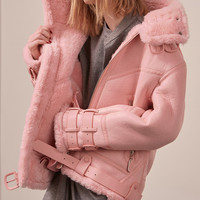 Kaelin Shearling Jacket $289.00
