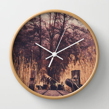Reach for the sky Wall Clock by HappyMelvin