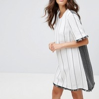 French Connection Riviera Tweed Tunic Dress at asos.com
