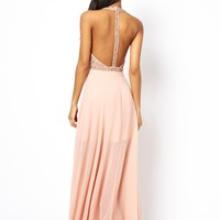 ASOS Cluster Embellished Maxi Dress