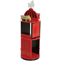 Little Fireman Revolving Bookcase