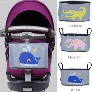 Free Shipping Baby Stroller Bag Diaper Organizer Maternity Mummy Bag Baby Waterproof Diaper Bag Nappy Bags With Large Size