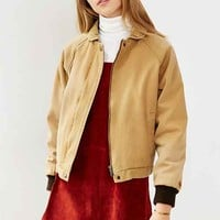 OBEY Fort Dodge Cord Collar Jacket