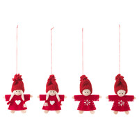 VINTER 2016 Hanging decoration Santa claus/red - IKEA