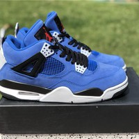 eminem x encore x air jordan 4 sneaker shoes 41-47