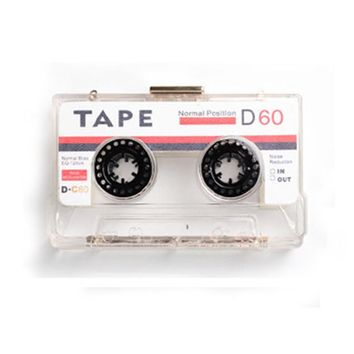 Cassette Tape Evening Clutch