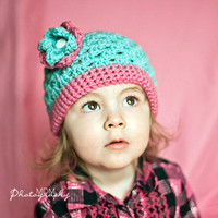 toddler girl hat crochet girl hat 12 months by stitchesbystephann
