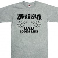 Dark Ash T-Shirt | Fun Father's Day Gifts Shirts