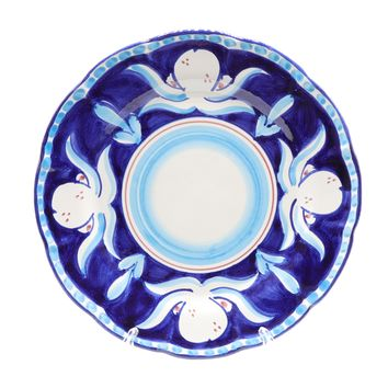 Vietri Octopus  Dinner Plate