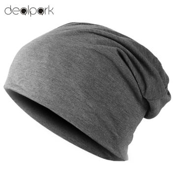 Spring Fashion Men Knitted Winter Cap Casual Beanies for Men Solid Color Hip-hop Slouch Skullies Bonnet Unisex Cap Hat Gorro
