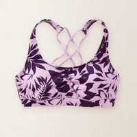AERIE CRISSCROSS SPORTS BRA