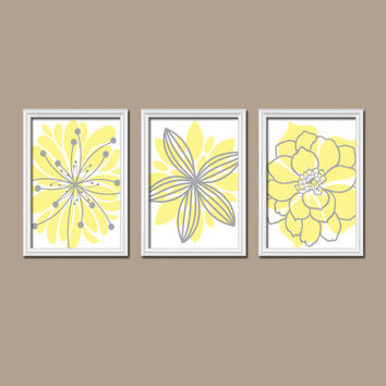 bathroom artwork. Yellow Gray Bedroom Wall Art  Canvas or Prints Bathroom Artwork Shop And on Wanelo