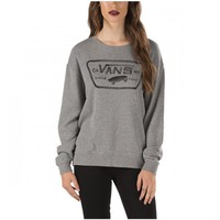 Vans Authentic Crew Fleece Sweater - Grey Heather