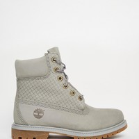 Timberland Icon Gray 6in Premium Boots