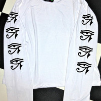 SWEET LORD O'MIGHTY! EYE OF HORUS RAGLAN