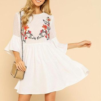 Noelle Flare and Sassy Dress