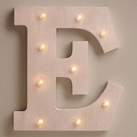 White E LED Battery Operated Marquee Light
