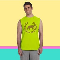 cow deluxe Sleeveless T-shirt