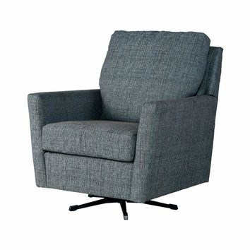 Teal Accent Swivel Rocker