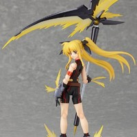 "Max Factory Magical Girl Lyrical Nanoha The MOVIE 2nd A's figma No. 163 ""Fate Testarossa -Sonic Form Ver.-"" (Japan Import)"