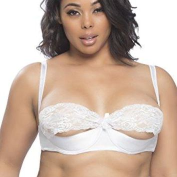 Oh La La Cheri Raquel Plus Size Shelf Lace Bra