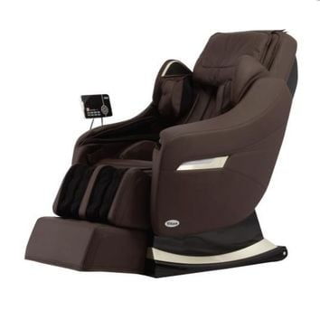 Titan Executive Luxury Recliner Massage Chair with Heat in Brown