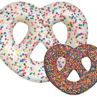 iscream Summer-Time Treats Chocolate Pretzel Microbead Pillow