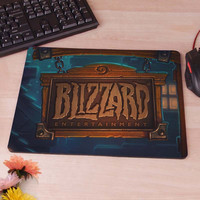 HearthStone Start Screen Blizzard Mousepad Mouse Pad pc mac laptop notebook usb hwd Gamer anti slip